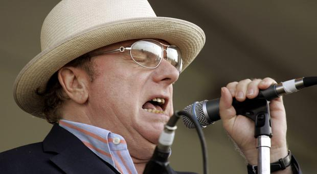 Sweet music: like Leonard Cohen, a great many of Morrison's songs contain deeply spiritual elements