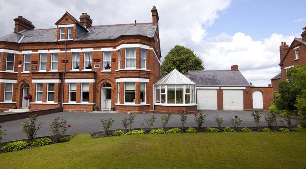 Montana Villa looks a picture from the outside on the Upper Knockbreda Road on the outskirts of Belfast