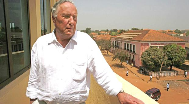 Unlikely lads: Frederick Forsyth (pictured) and Charles Haughey had an unexpected friendship