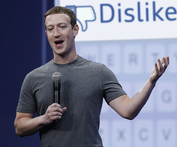 Feeling it: Mark Zuckerberg could introduce a new emotion for Facebook