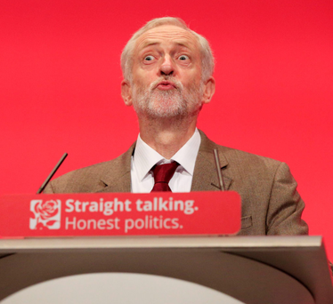 No surprise: Jeremy Corbyn has supported the Campaign for Nuclear Disarmament for many years