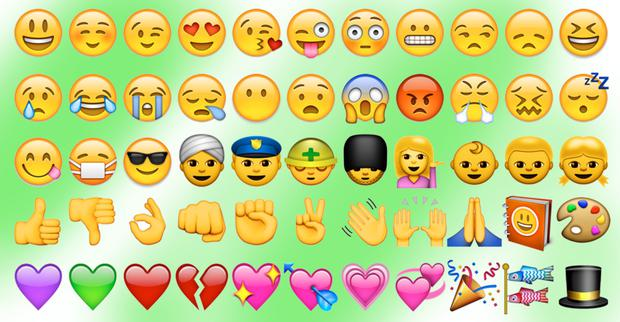 Sign of the times: emojis have become a global phenomenon