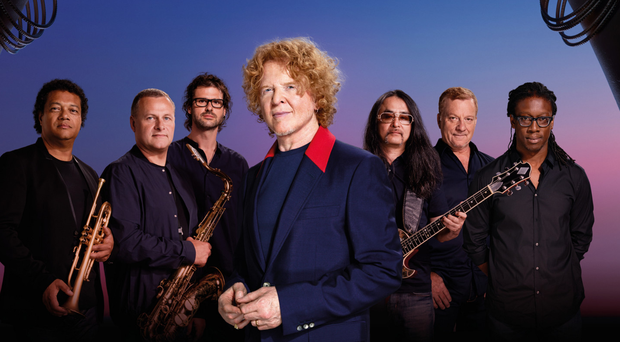 Simply Red will play Belfast on December 2