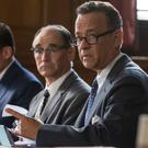 Riveting intrigue: Tom Hanks is drawn into a game of cat and mouse between America and Russia