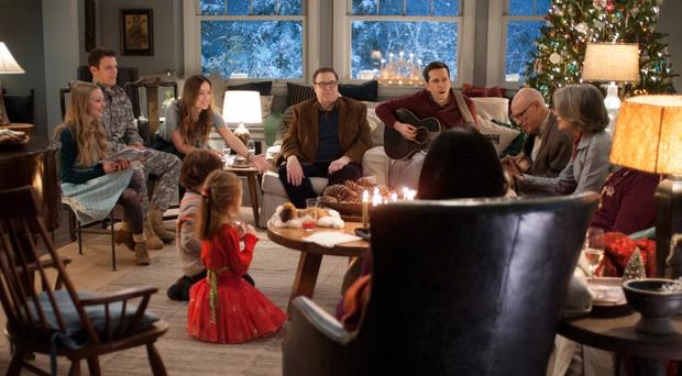 Out of tune: the extended Cooper family have a rather different Christmas than they anticipated