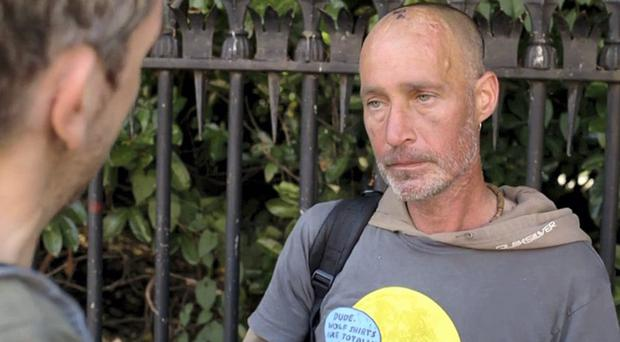Terrible tragedy: Jonathan Corrie's death outside Leinster House in Dublin sparked an outcry
