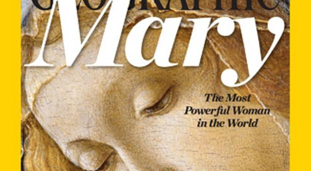 Number one: the magazine picked Mary, mother of Jesus, as its most powerful woman