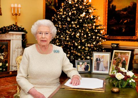 Powerful statement: the Queen quoted from the Gospel of St John in her Christmas message