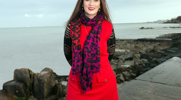 Loving life: Aine O'Connor as she is now after her transformation