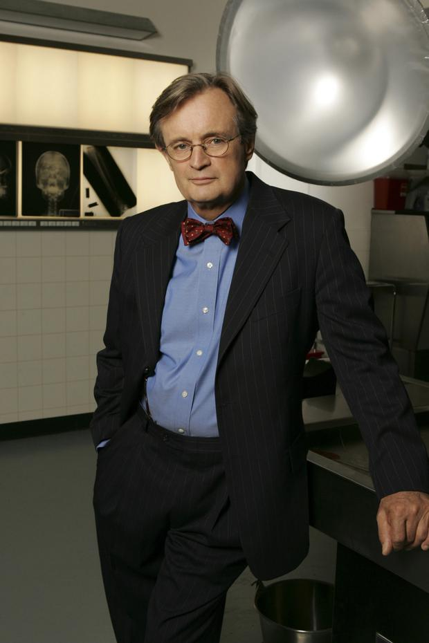 Youthful charm: David McCallum