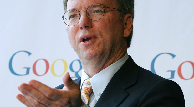Shareholder focus: Eric Schmidt, chairman of Google, is proud of the company's approach to capitalism
