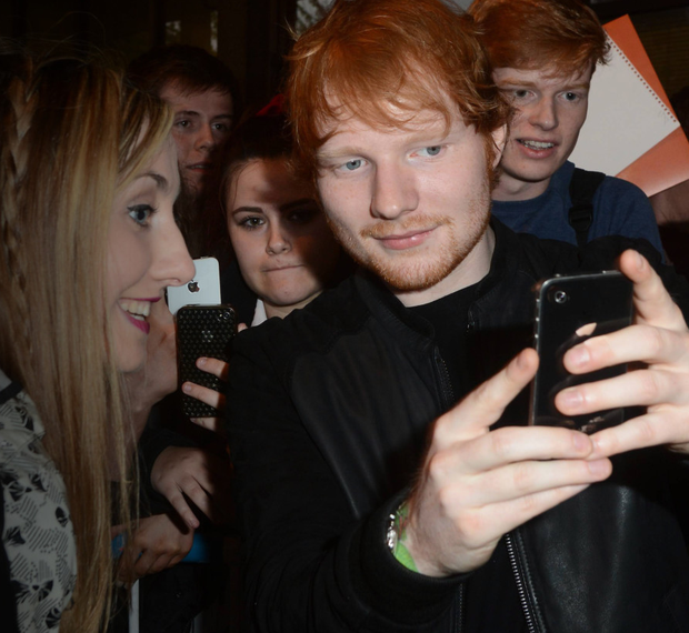 Offline sensation: Ed Sheeran signed himself out of Instagram and Twitter until autumn