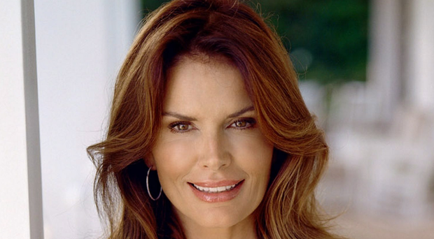 No 2: Roma Downey - £303m - Roma and husband Mark Burnett have produced shows such as The Apprentice, The Voice and Survivor.