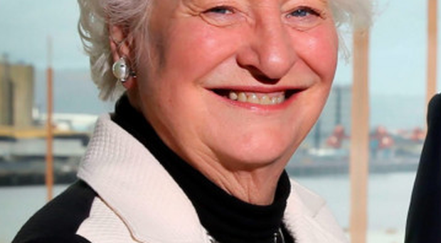 Mary Peters lent her support to the bid