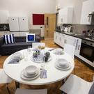 Comfortable living: student accommodation at John Bell House in Belfast city centre is a far cry from some of the properties that students inhabited in the past