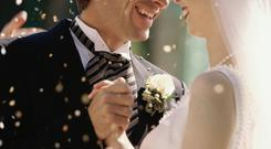 New life: figures say an average marriage in the UK lasts for 32 years
