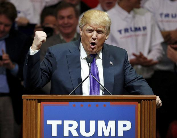 Republican radical: Donald Trump has earned a rebuke from Pope Francis