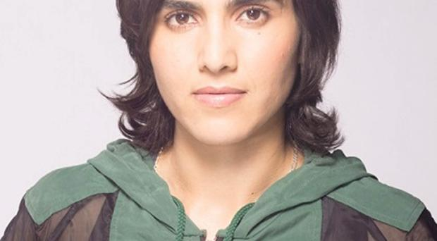 Fighting back: Maria Toorpakai defied the Taliban to become a top sports star