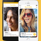 Buzzing around: the Bumble BFF tool has proved very popular, especially with females