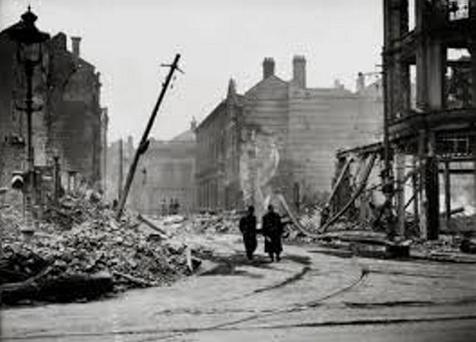 Aftermath of the Belfast Blitz
