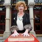 Peerless wordsmith: Edna O'Brien is being honoured in Dublin