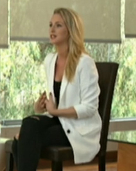 On camera: the first television interview of Michaella McCollum after being released on parole from jail in Peru