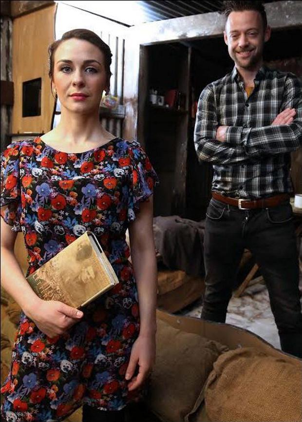 Belfast-born Roisin Gallagher plays Phyllis and fellow actor Ruairi Tohill, also from Belfast, is Eric Appleby