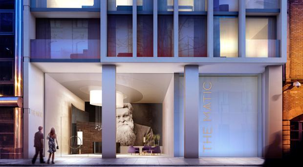 The apartments will each have a high-end finish throughout with contemporary designer kitchens and bathrooms