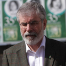 Race rows: Gerry Adams has caused outrage with the N-word