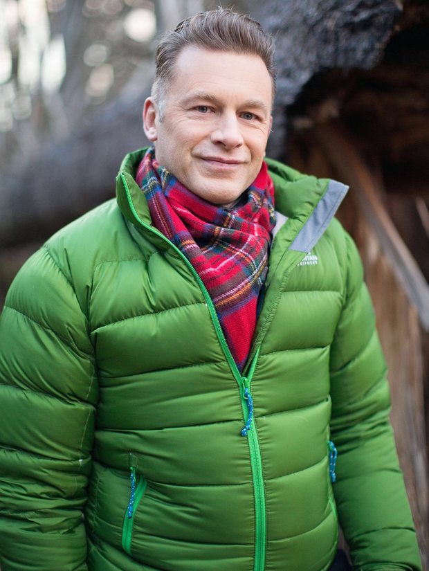 Troubled times: Chris Packham has battled back from depression