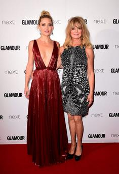 Generation game: Kate Hudson and her mother, Goldie Hawn