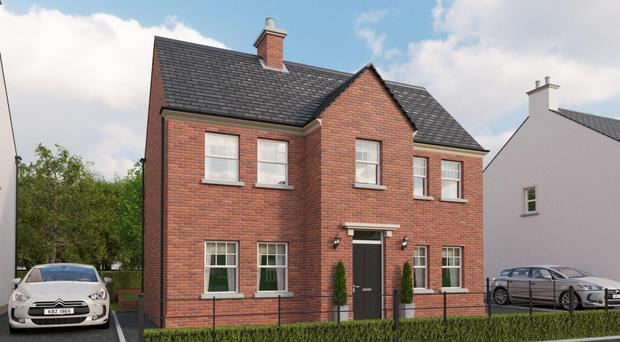 The proposed new properties will be finished to a high standard, both inside and out, as part of a massive new housing development at Readers Park, Ballyclare