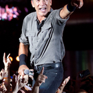 Stage struck: Bruce Springsteen is famed for his live shows