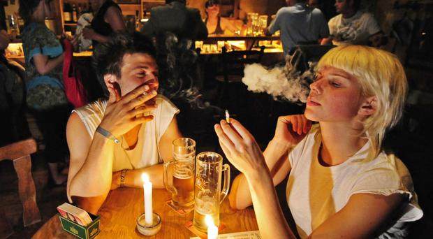 Stubbed out: the European Union is planning to ban 10-packs of cigarettes in an effort to reduce the number of smokers