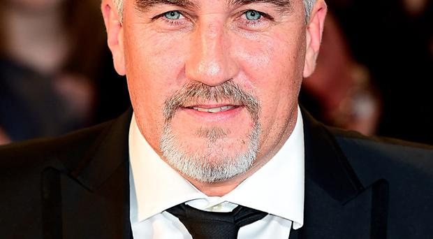 Rock off: Paul Hollywood