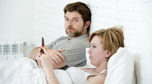 Switched on: but staying connected on our mobile devices means we are increasingly neglecting relationships
