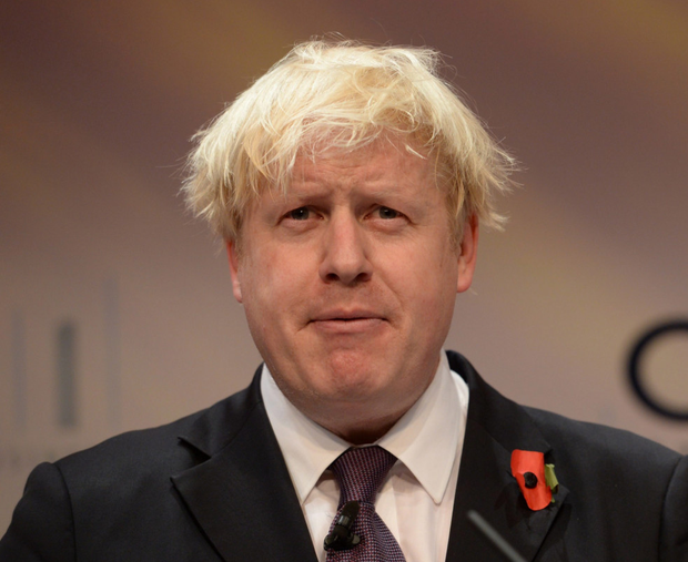 Write stuff: 'Leave' campaigner Boris Johnson is dismissive of the amount he's paid for writing an opinion column