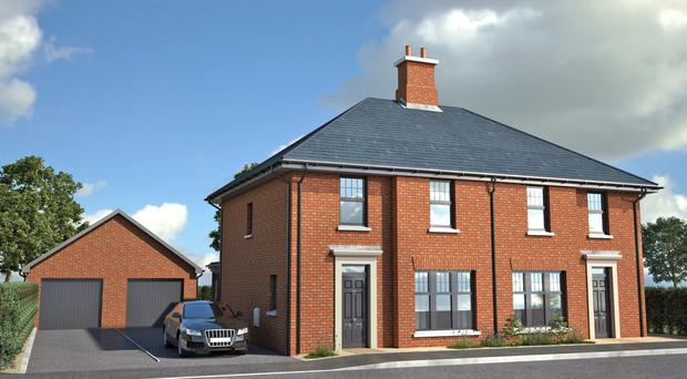 The amazing homes have the added bonus of being situated in a prime coastal location just a short trip from Belfast