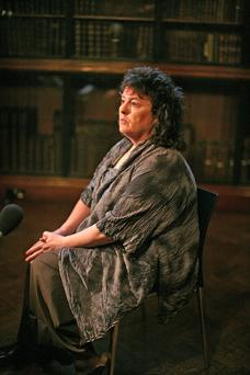 Poetry passion: Dame Carol Ann Duffy was an avid reader and loved poetry in her school days