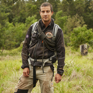 Danger man: Bear Grylls knows the risks involved in making his shows, but insists he's less reckless these days