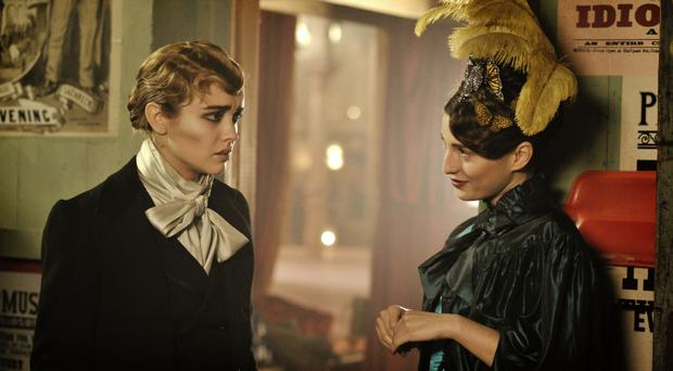 Wickedly good: Olivia Cooke and Maria Valverde