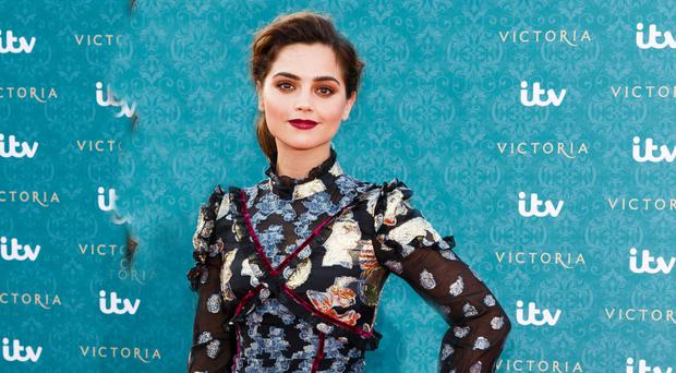 Royally good: Jenna Coleman is making a big impression in ITV's Victoria