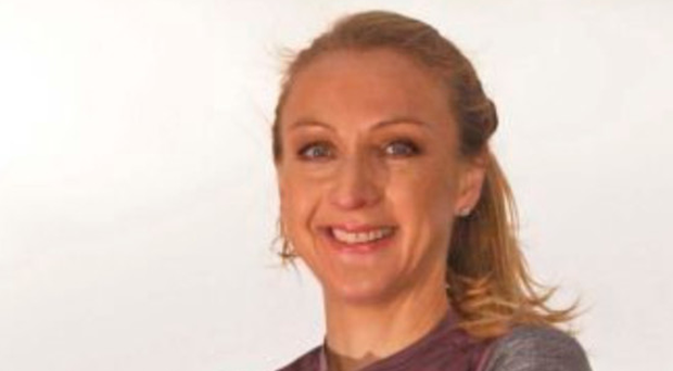 Safety first Paula Radcliffe views the jab as part of her asthma care