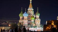 Keep right: the Kremlin and Russia is now under the control of that 'kindly capitalist' Vladimir Putin