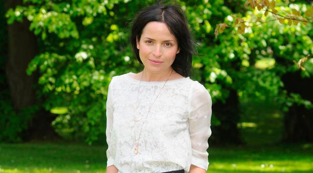 Back again: Andrea Corr is singing again with her family