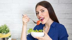 Little choice: vegetarian options in restaurants can be rather limited