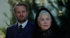 Haunting: Jason Clarke and Helen Mirren