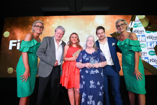 Fiona Simpson from Limavady was named Charity Champion at the Sunday Life Spirit of Northern Ireland Awards