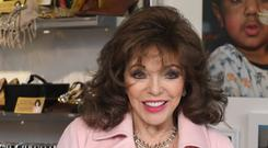 Growing old disgracefully: Dame Joan Collins