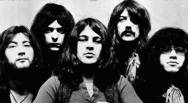 Rock of ages: Deep Purple circa 1972, including Richie Blackmore (second left), Jon Lord (second right), and Ian Paice (right)
